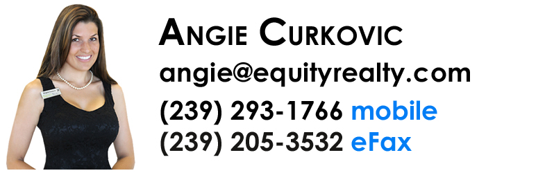 Angie Curkovic - Realtor with Equity Realty in Naples, Florida