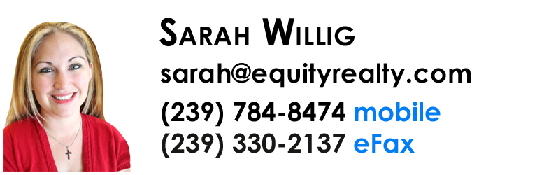 Sarah Willig - Realtor with Equity Realty in Naples, Florida