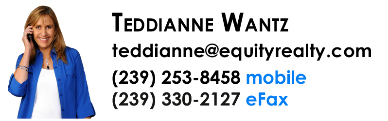 Teddianne Wantz - Realtor with Equity Realty in Naples, Florida