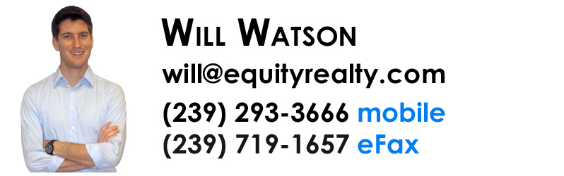 Will Watson - Realtor with Equity Realty in Naples, Florida