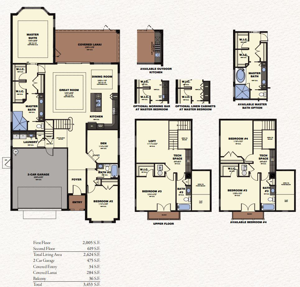 Bougainvillea floor plan the isles of collier preserve for Floor plans florida