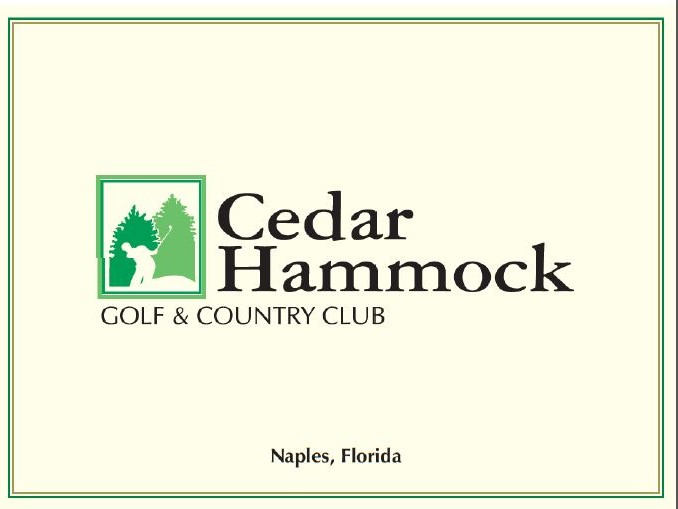 Medium image of cedar hammock golf scorecard