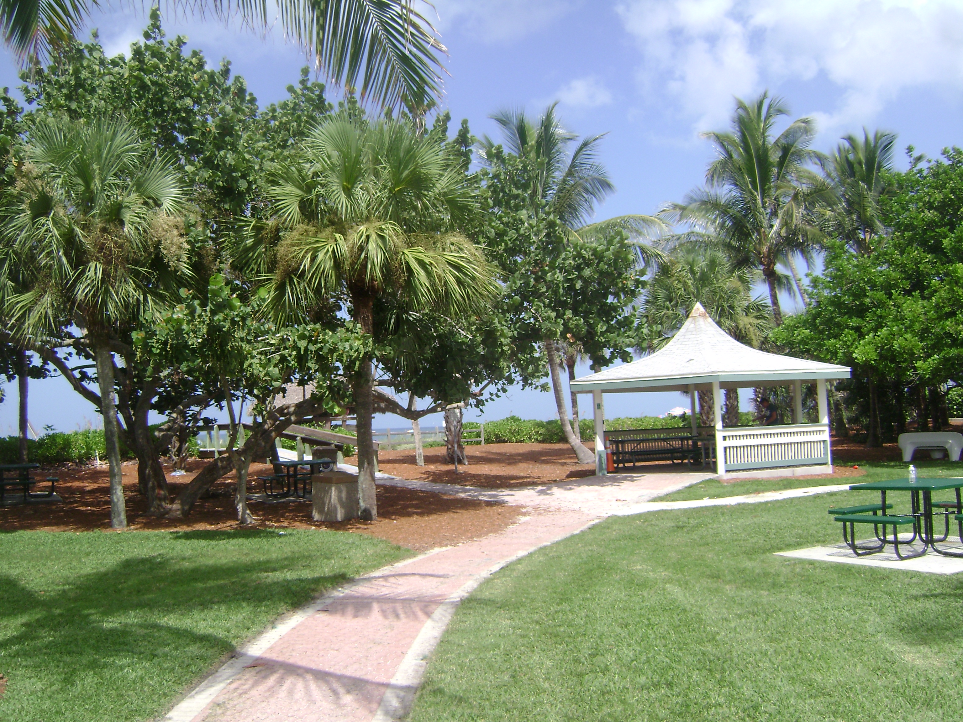 Park at Coquina Sands in Naples, Florida.