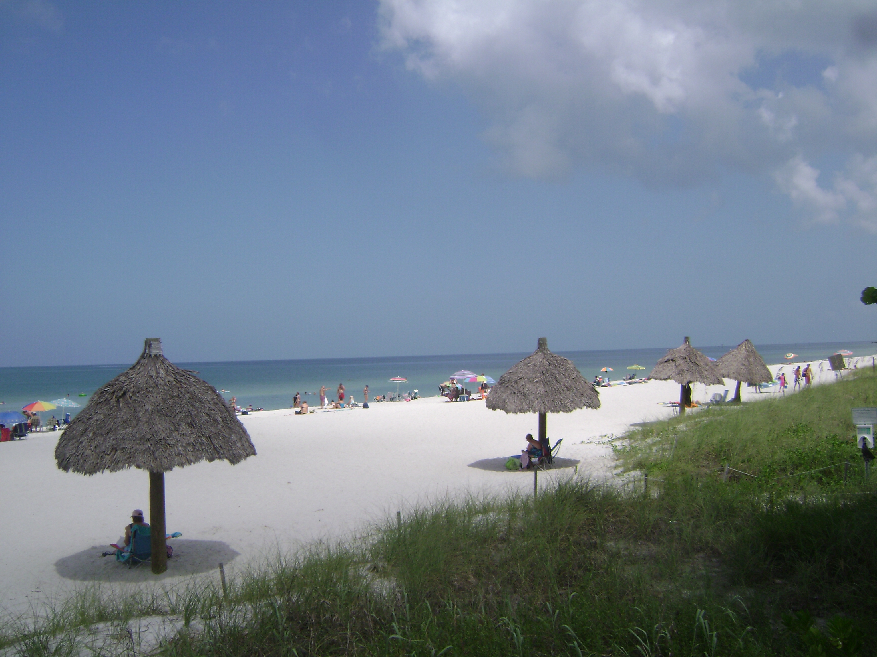 Beach at Coquina Sands in Naples, Florida.