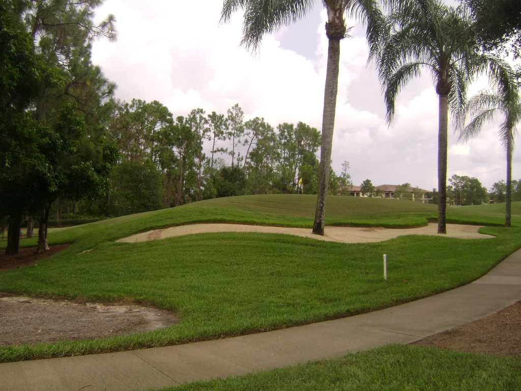 Golf Course View at Countryside in Naples, Florida