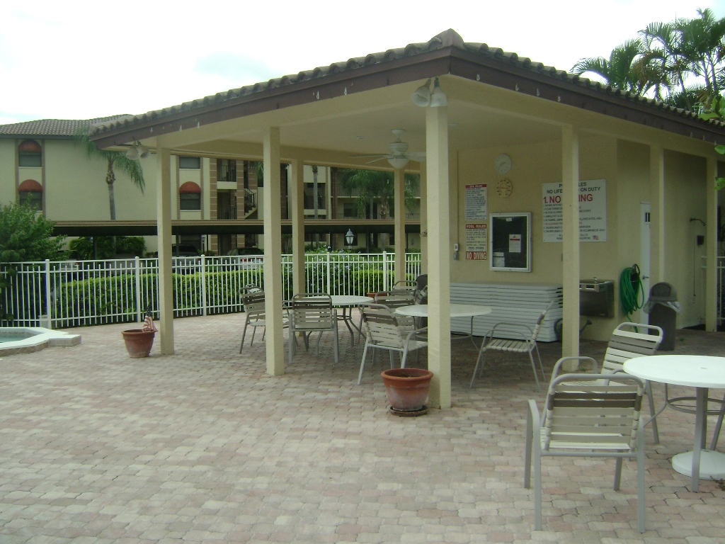 Pool deck photo at Countryside in Naples, Florida.