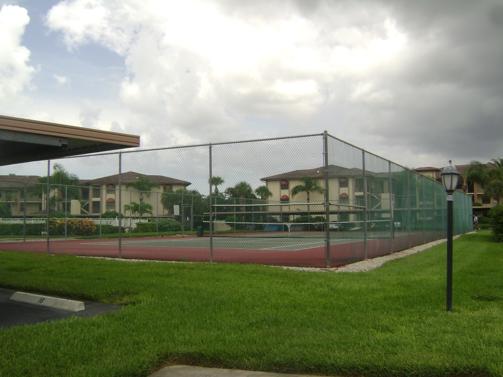 Tennis courts at Countryside in Naples, Florida.