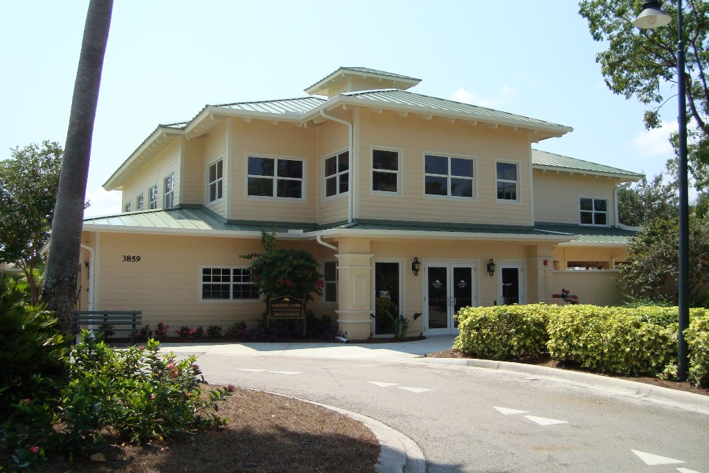 Clubhouse at Forest Glen in Naples, Florida.