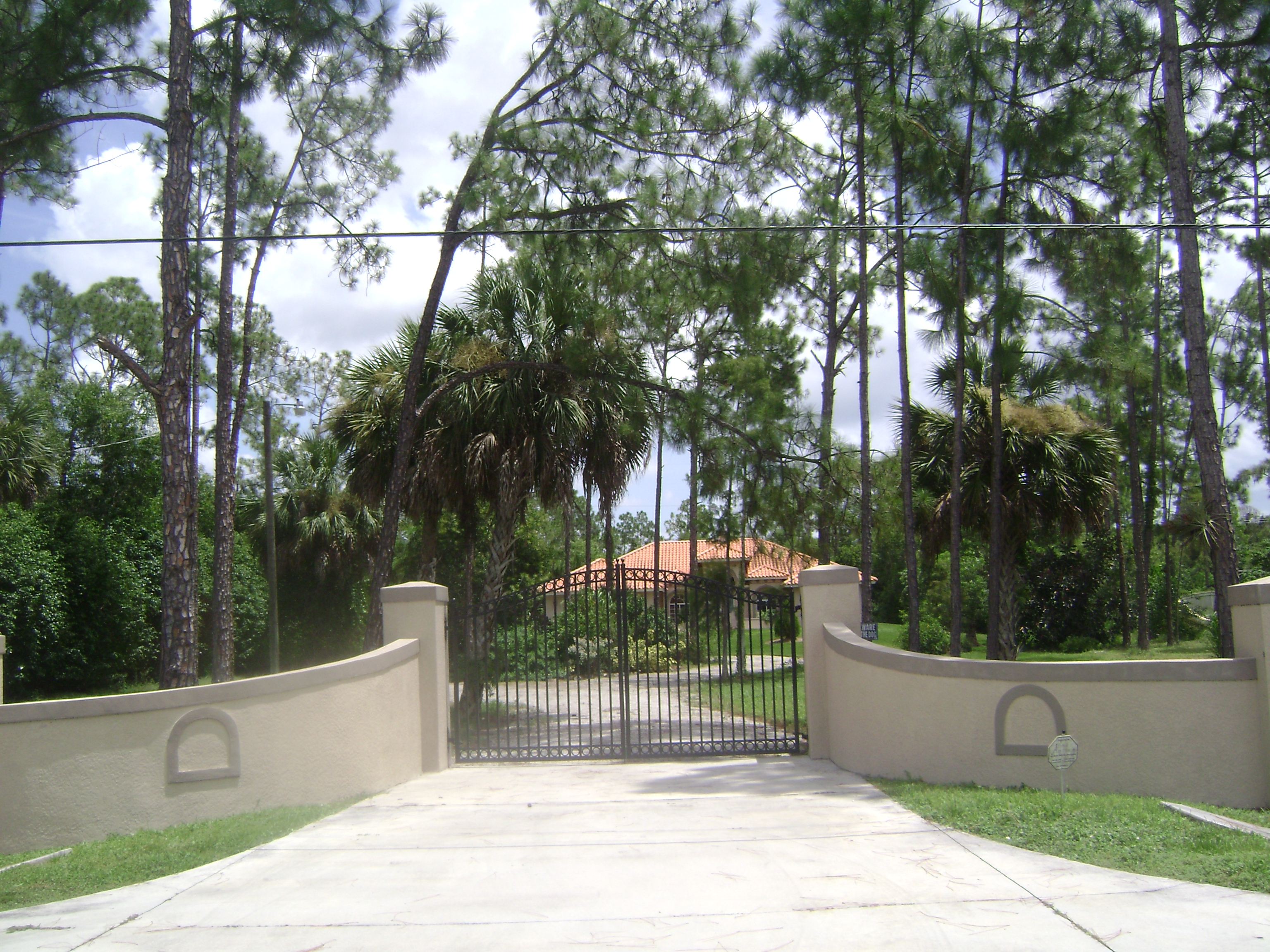 Home in Golden Gate Estate in Naples, Florida.