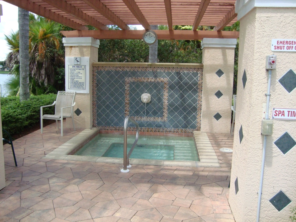 Spa at Huntington Lakes in Naples, Florida.