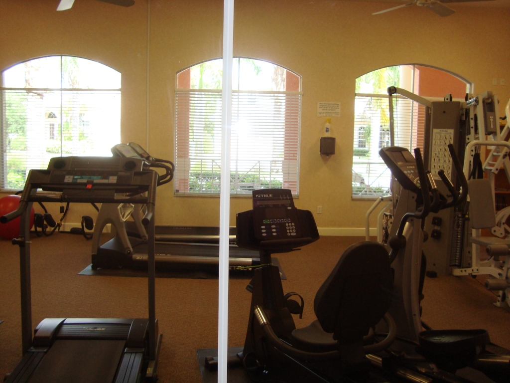 Fitness facility at Indigo Lakes in Naples, Florida.