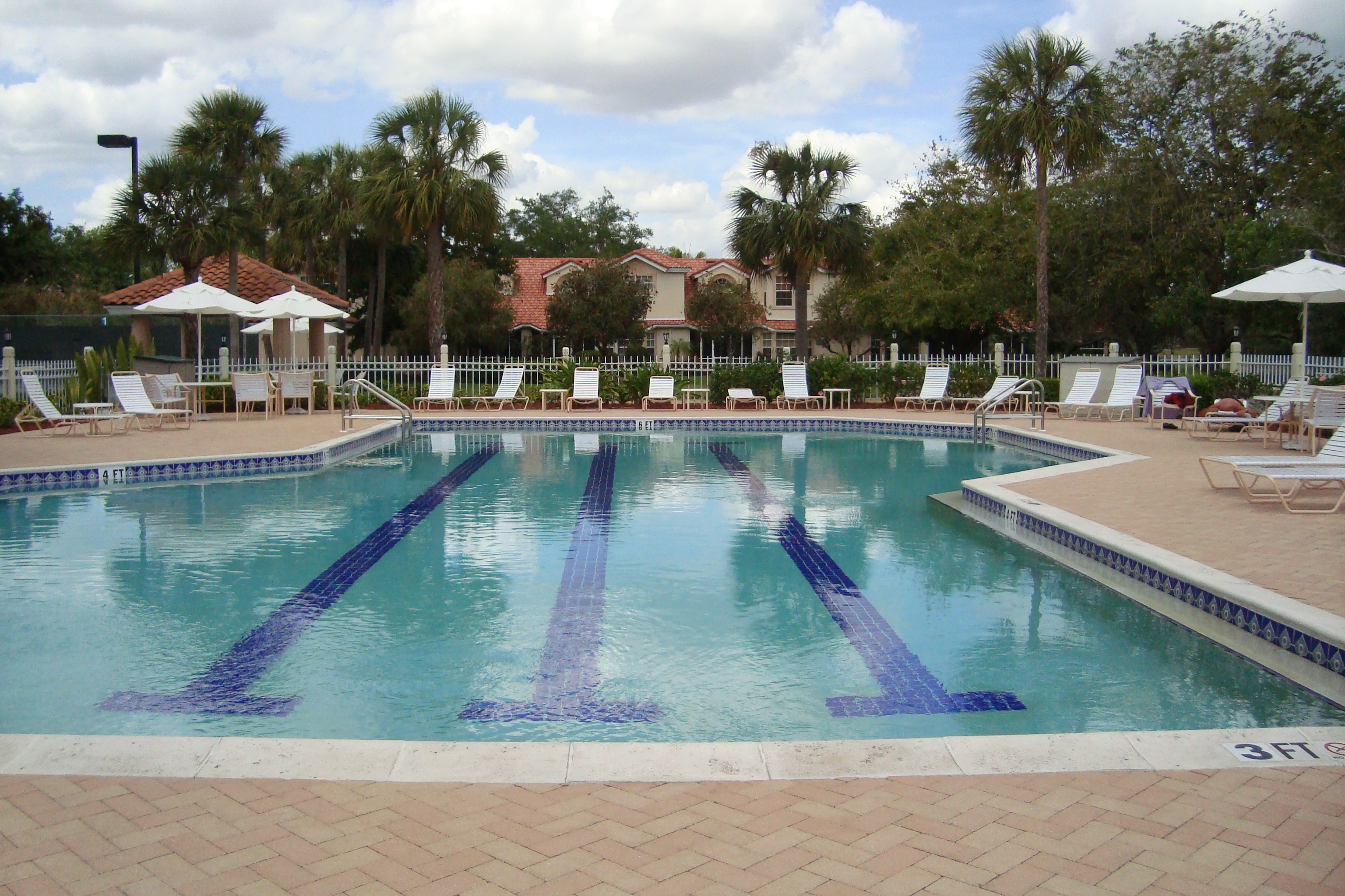 Pool at Monterey in Naples, Florida.
