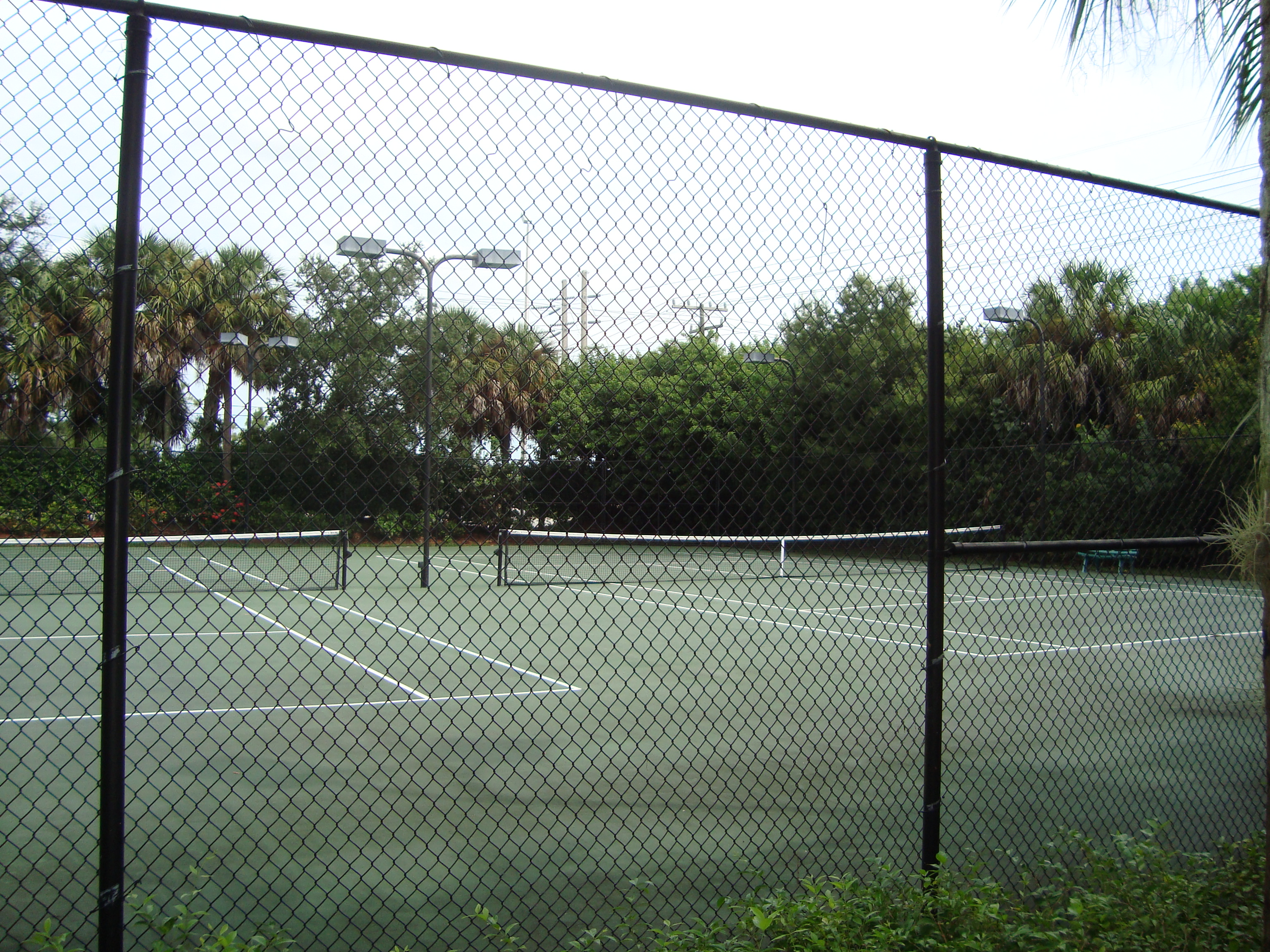 Tennis Courts at Orchards in Naples, Florida.