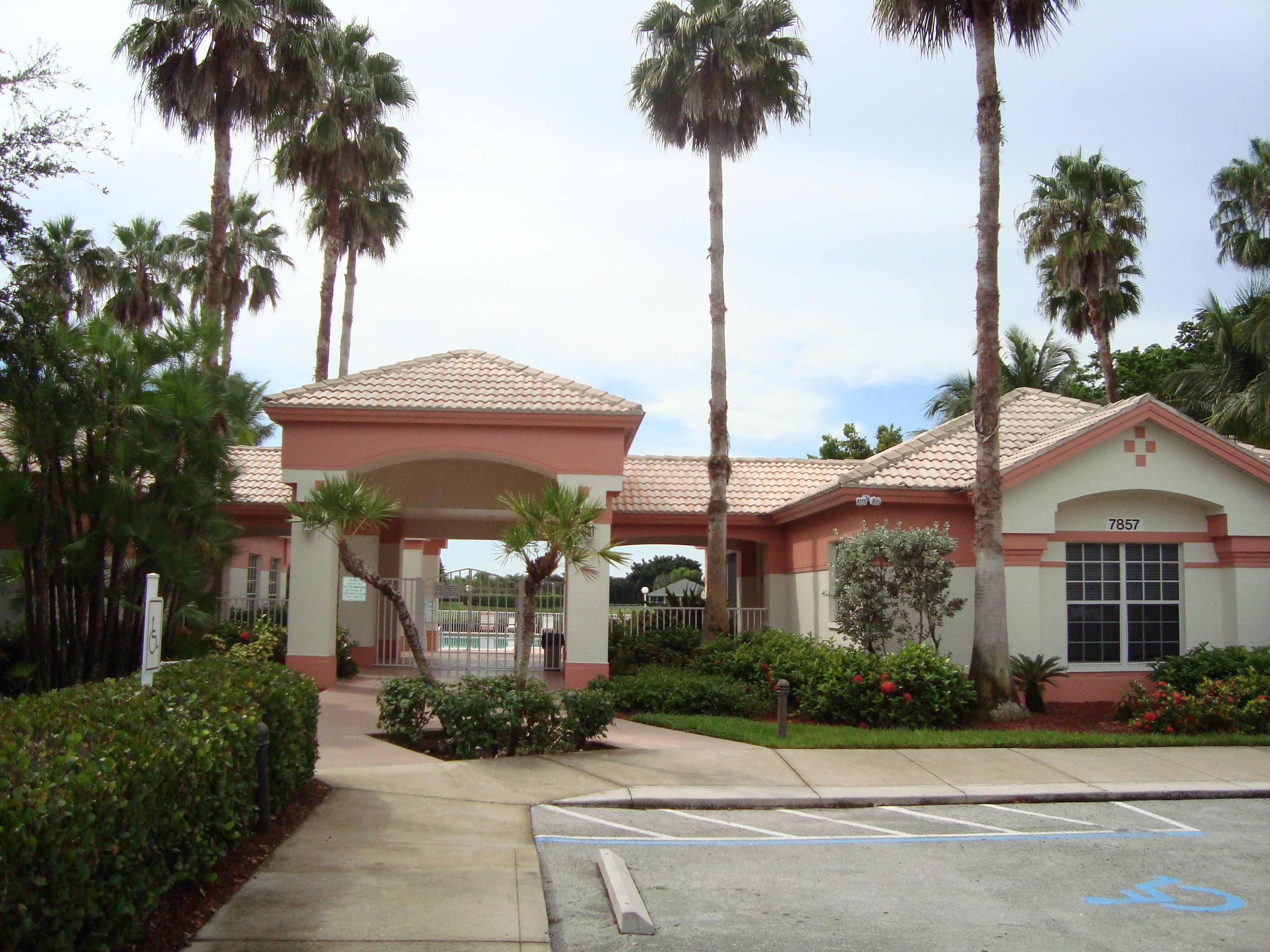 Clubhouse at Orchards in Naples, Florida.