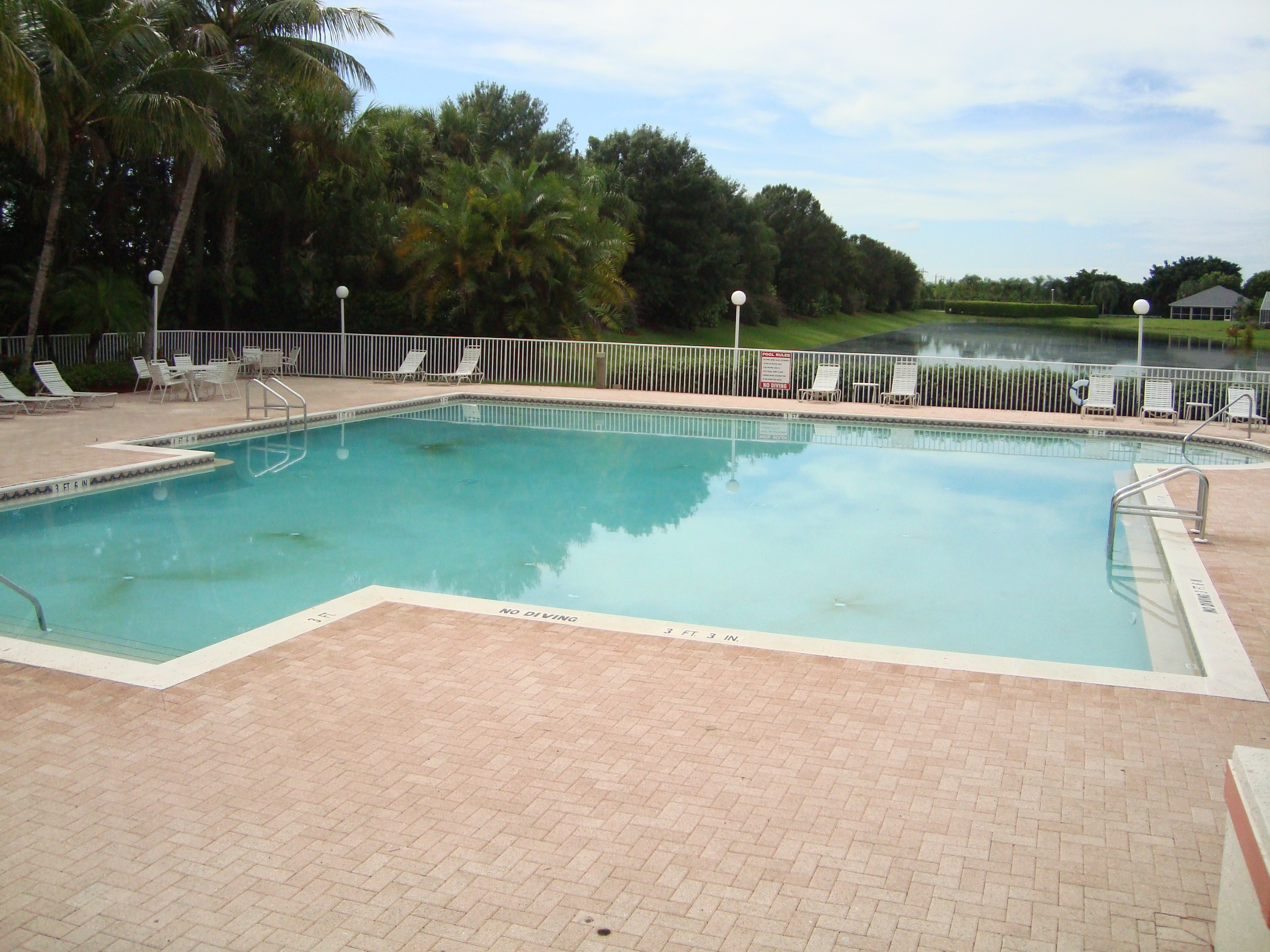 Pool at Orchards in Naples, Florida.