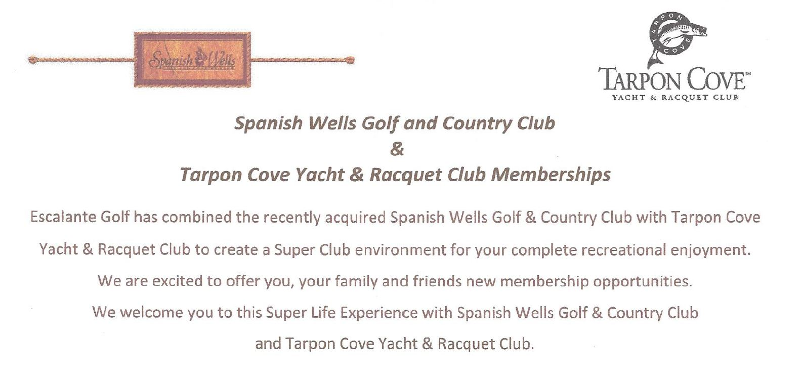 Club information for Spanish Wells in Naples, Florida.