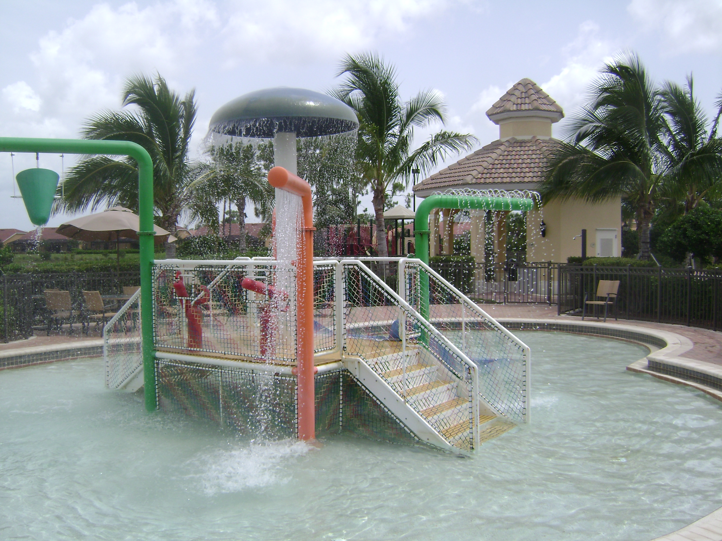 Water park at Tuscany Cove in Naples, Florida.