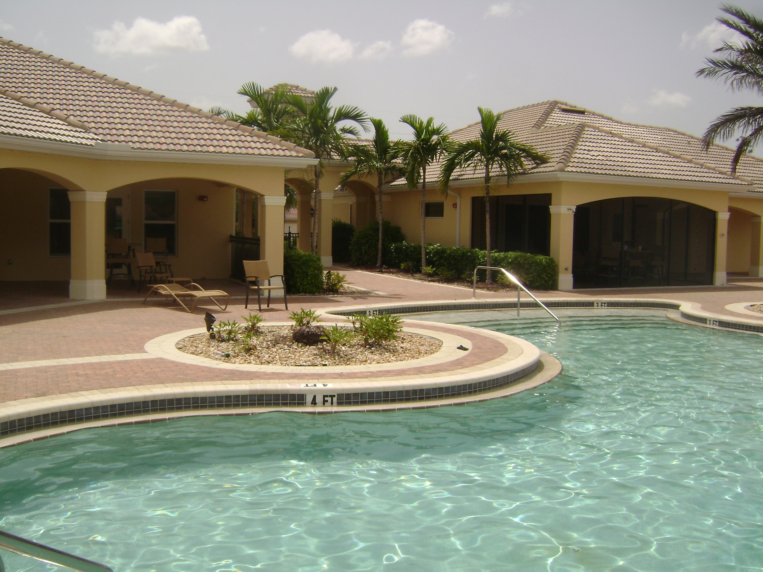 Pool at Tuscany Cove in Naples, Florida.