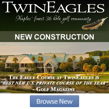 Browse New Construction in Twin Eagles Naples, FL