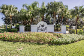 Real Estate in Carlton Lakes in Naples, Florida.