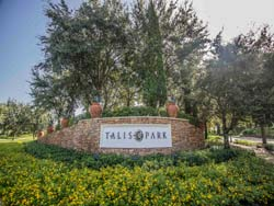 Real estate in Talis Park in Naples, Florida.