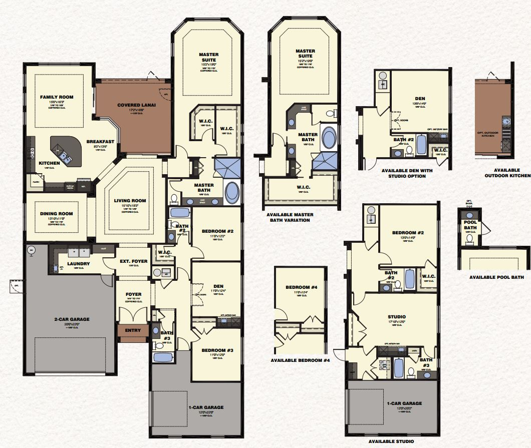 Ginger Floor Plan The Isles Of Collier Preserve In