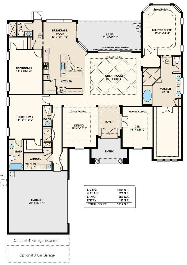 Naples floor plan thefloors co for Floor plans florida