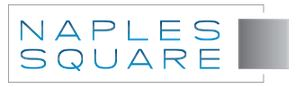 Logo for Naples Square in Naples, Florida.