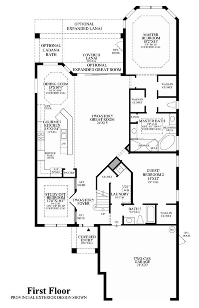 Saviero Floor Plan Cordova At Spanish Wells In Bonita